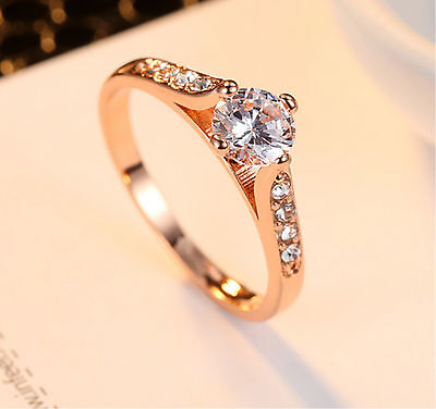 Women rings stainless steel ring wedding rings engagement for Lady's Lianzhi