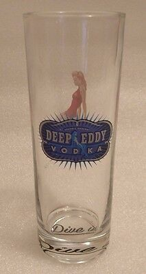 Deep Eddy Vodka Distillery Betty Dive In! Highball 12oz Glass