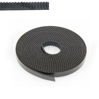 1M 2GT 6mm PU Wire Pulley Timing Belt for Stepper Motor 3D Printer Prusa