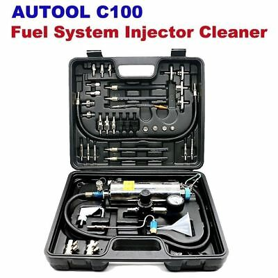 Automotive Non-Dismantle Fuel System Injector Cleaner for Petrol EFI Throttle