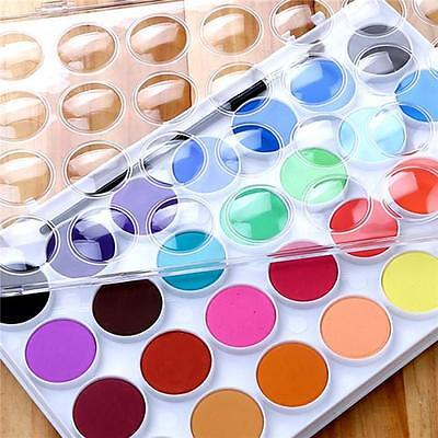 16/36 Colors Watercolor Cake Outdoor Paint Pigment Painting Set For Kids Child
