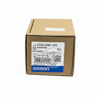 OMRON E5CN-Q2MT-500 100-240V  Temperature Controller New in Box 12V DC