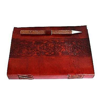 HLC Leather Journal Notebook Blank Writing Journal Sketchbook For Men And New