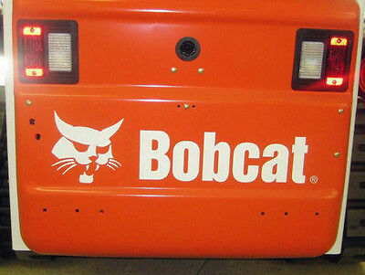 Bobcat skid steer Rear Door Replacement Decal t250 t190 t300 t320 s250 s300