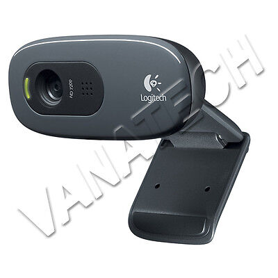 WEBCAM LOGITECH C270 HD NP NP 960-001063 WEBCAM PER PC 1280x720 NERA USB GLS