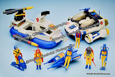 Action Force - S Force, Q Force, Z Force, S.A.S and Red Shadows - Set of 5 - 9x6