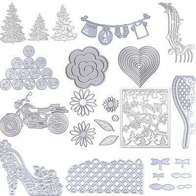 Cutting Dies Stencil DIY For Scrapbook Decor Embossing Paper Craft Die Cutter