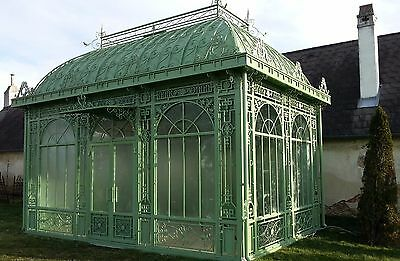 gartenhaus orangerie pavillon gew chshaus gazebo wintergarten eur picclick de. Black Bedroom Furniture Sets. Home Design Ideas