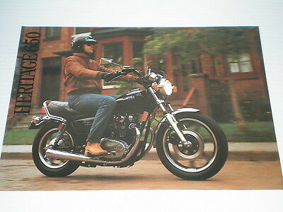 YAMAHA Heritage 650 Special Sales Brochure #L5