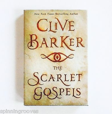 Clive Barker: The Scarlet Gospels (Hardcover, 1st Edition) ~ NEW Horror Fiction!
