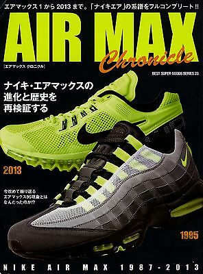 reputable site dc5a7 9e286 NIKE Air Max Chronicle Book 1 90 95 97F 360 Trial Nomo Running Waffle Oregon