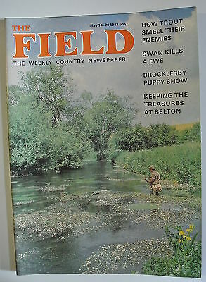 The Field Magazine. May 14-20, 1983. Brocklesby Puppy Show. Treasures at Belton.