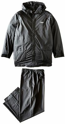 Coleman 20mm PVC Rain Suit Black Medium