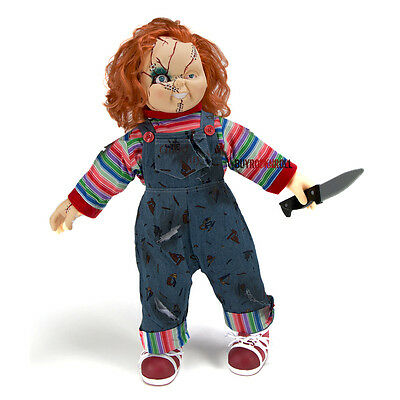 "Bride of Chucky Collectors: 2015 Universal Studios 24"" Chucky Plush Doll & Stand"