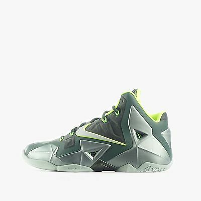 Nike Lebron XI Mens Basketball Shoes Mica Green/Volt