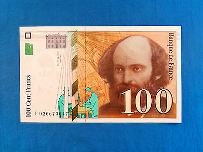 1997 France 100 Francs Banknote *P-158a.1*       *XF+*