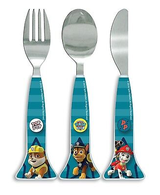 Paw Patrol Cutlery Set Boys 100% Official Licenced Product