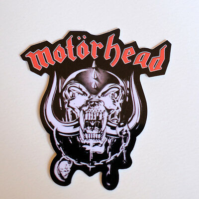Motörhead motorhead guitar drumhead drum shell snare symbols Decal Sticker #2193