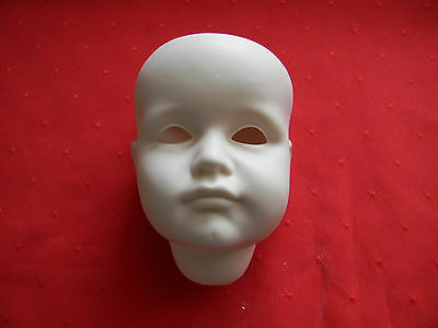 Porcelain Doll Head, KR 114 Hans/Gretchen