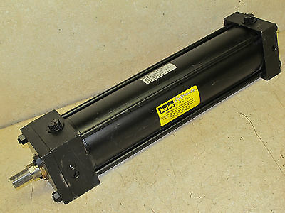 "Parker,    3 1/4""  Bore  X  12""  Stroke,  Pneumatic Cylinder,   Series 2A"