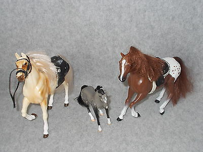 Grand Champions Appaloosa & Stallion Horse & Clydesdale Gray Jump Pony Figures