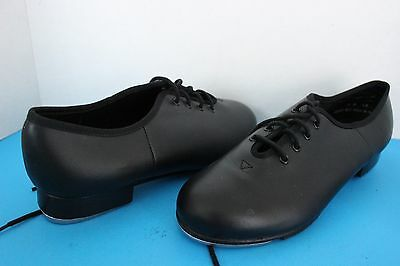 Capezio's Women's Lace Up Black TAP Dance SHOES ~Size 8 M~ Recital Performance