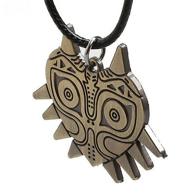 Classic Anime Game Legend of Zelda Necklace Bronze Metal Pendant Cosplay Jewelry