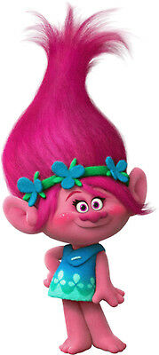 POPPY character of TROLLS 2016 Movie DreamWorks Animation - Window Cling Decal