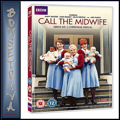 Call The Midwife - Complete Series 6 Plus 2016 Xmas Special *** Brand New Dvd***