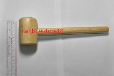 Wooden Hammer Punch Install Tool For leather Craft work Leather Craft Tool Wood
