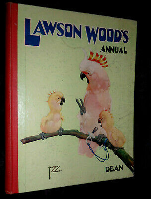 LAWSON WOOD'S ANNUAL  c1950'S - Dean & Son, LTD
