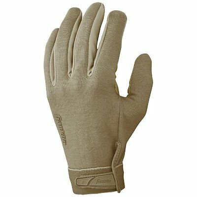 Franklin Sports General Duty Tactical Gloves  Tan  X-Large