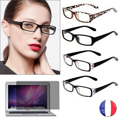 LUNETTES PROTECTION RADIATION ECRAN ANTI-LUMIERE BLEUE FATIGUE REPOS DESIGN *48h