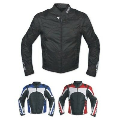 Veste Moto Textile Cordura Manche Détachable Racing Sport Touring Scooter
