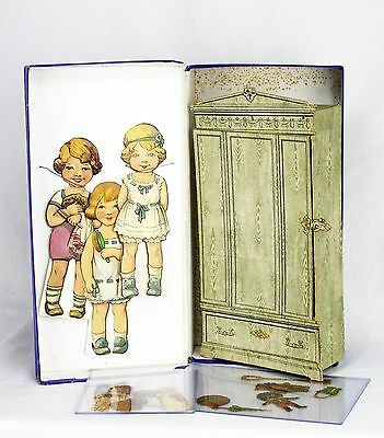 Antique Bavaria Spears Games Dolly's Wardrobe Paper Doll Set