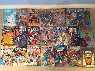 Lot Of 21 Dc And Marvel And Miscellaneous Comics Vintage 1980s Lot 3