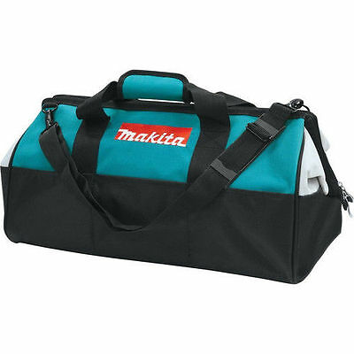 """Makita 21"""" x 12 x 12 Contractor Tool Bag 831271-6 For Saw Drill Impact NEW"""