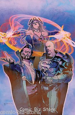Trinity #7 (2017) 1St Printing Sienkiewicz Variant Cover Dc Universe Rebirth