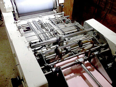 1360 Multi Printing Press Chain Delivery with Kompac Dampener
