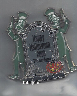 Disney DLR - Happy Halloween 2008 The Haunted Mansion Tombstones Duellers Pin