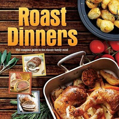 Roast Abendessen ___BRANDNEU ___Hardcover ___Werbeantwort UK