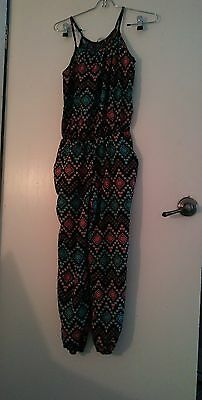 Women's Built in Pants and Top One Piece Outfit Pinc Brand Size XL