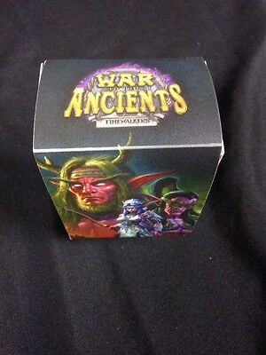 WOW World of Warcraft Plastic Deck Box +  Divider - War of the Ancients (G28