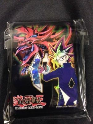 YU-GI-OH YuGiOh Official Duelist Card Sleeves Yugi and Slifer Mint  x50 (G9