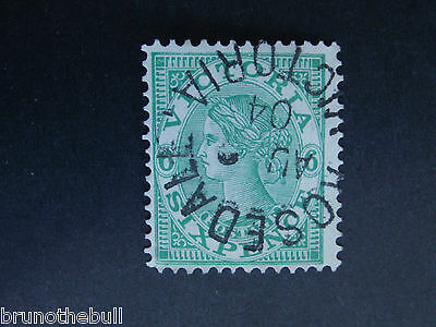 Victoria 6d Emerald Green with Rosedale Victoria Postmark.
