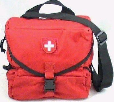 Military EMT Combat M3Medic GI Style Emergency Kit Tactical Schools Red 1st Aid