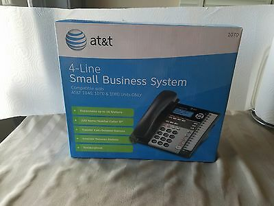 AT&T 1070 4-Line Small Business Office Corded Phone Telephone System used