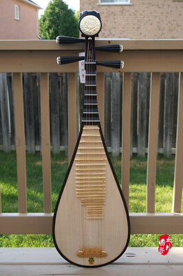 DUNHUANG Pipa, Chinese Lute - PROFESSIONAL AGED ROSWWOOD PIPA WITH CA - 敦煌花梨木琵琶