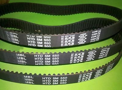 HTD 5M 250/255/260 Synchronous Wheel Sprocket Close Loop Timing Pulley Belt