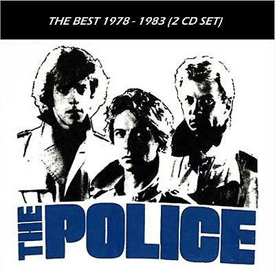 The Police [REMASTERED] - The Best 1978 - 1983 (2 CD Set) Sealed! New!